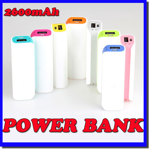 top popular Wholesale-New 2600mah Romoss usb power bank backup portable rechargeable battery bank travel mini powerbank for iphone 6 5 samsung galaxy S5 2019