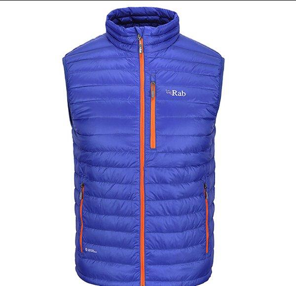 release info on detailed look dirt cheap 2019 Fall RAB Men Lightweight Warm Vest Waistcoat Bodywarmer Goose Down  Sleeveless Jacket Chaleco Hombre El Ganso Plumas Erkek Yelek From Maidon,  ...