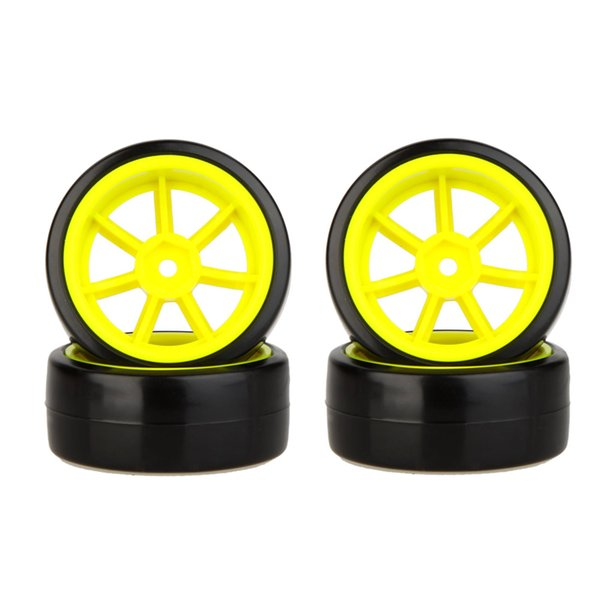 4Pcs 1/10 Rally Car Wheel Rim and Tire 290107 for Traxxas HSP Tamiya HPI Kyosho RC Car Part order<$18no track