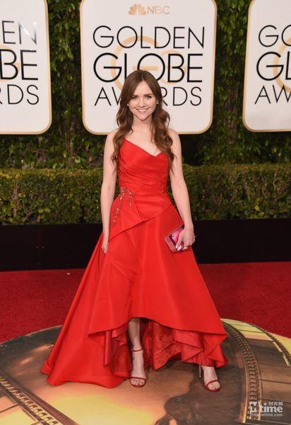 Inspiriert von Elie Saab Golden Globe Award Roter Teppich Celebrity Kleider 2016 Tara Lynne Barr Sexy Spitze Abendkleider Prom Party Queen Dress