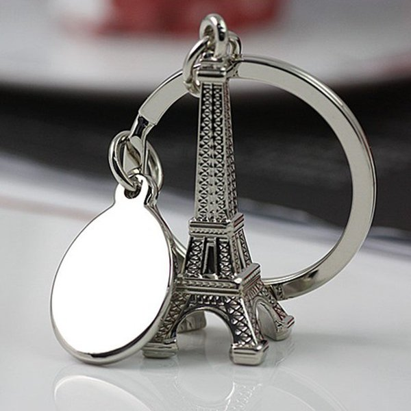 10 STÜCKE Oppohere Torre Eiffelturm Keychain Für Schlüssel Edelstahl schlüsselanhänger Souvenirs schlüsselanhänger Ring Dekoration Schlüsselhalter für Auto