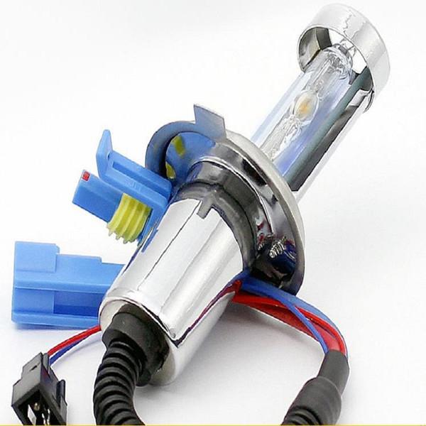 1Pair HID Xenon H4 xenon Hi/Low Dual Beam Bulbs 12V 35W Lamp for motor Headlight Replacement 3000/4300/5000/6000/8000/12000K