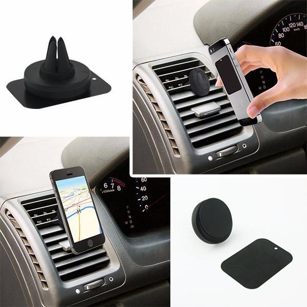separation shoes d0950 5313c Car Mount Phone Holder Car Air Vent Mount Clip Magnetic Holder Dock  Smartphone Universal for iphone 7 6s Samsung S7 HTC Blackberry