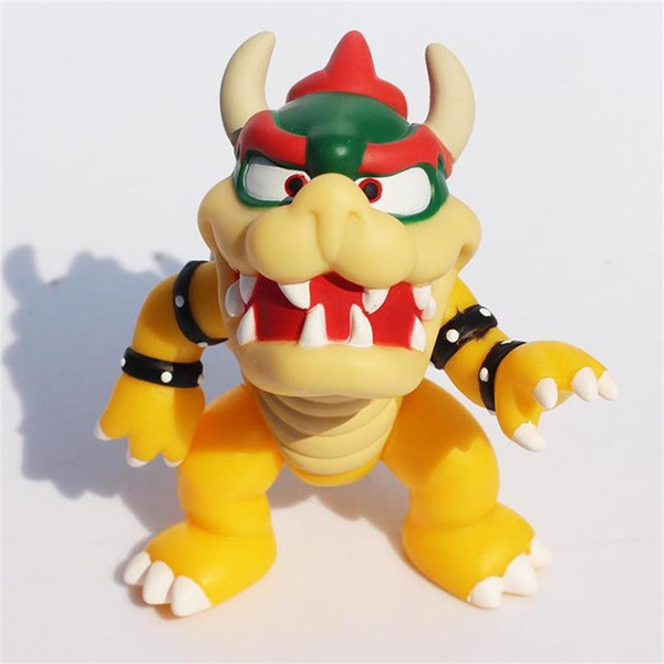 """Super Mario Bowser Action Figures Doll PVC figure Toys Cute 4.3"""" doll toys Free Shipping DHL"""