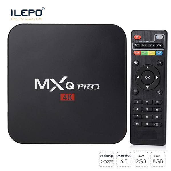 android tv box MXQ Pro 4K TV Box s905w android 7.1 18.0 smart ott tv set top box vs X96 mini