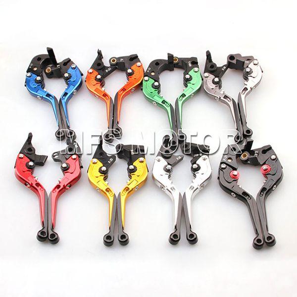 CNC Foldable Extendable Brake clutch levers For Honda VFR800 1998 1999 2000 2001