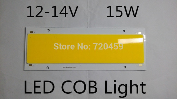 LED 15W module strip LED white module lights glowing plate surface 12V COB DIY table lamp source vehicle light 15WLED 140mm