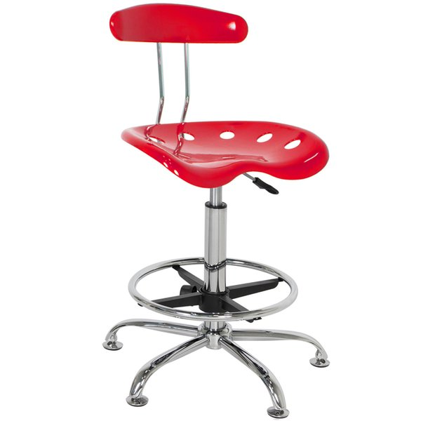Tremendous 2019 Abs Tractor Seat Adjustable Bar Stools Swivel Chrome Drafting Chair Modern Red From Newlife2016Dh 45 23 Dhgate Com Ibusinesslaw Wood Chair Design Ideas Ibusinesslaworg