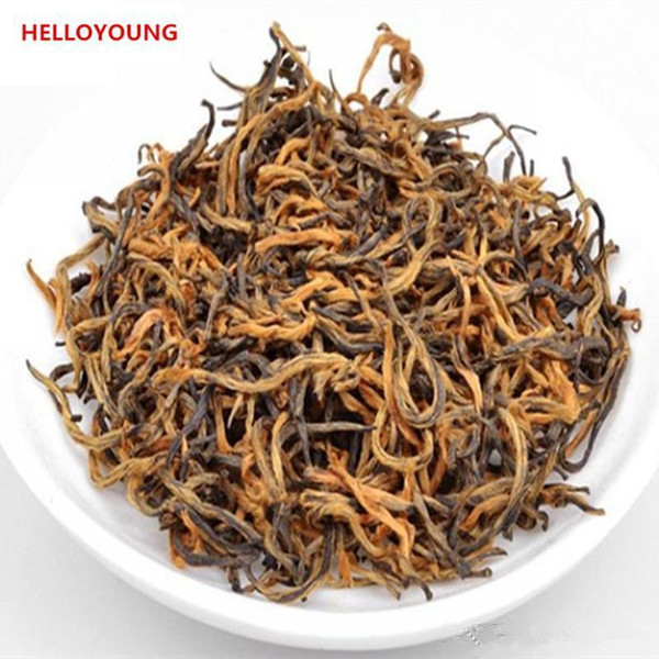 Preferenza 250g nero cinese organico del tè alla rinfusa Jinjunmei Red Tea Salute New cotto Tè sano Green Food