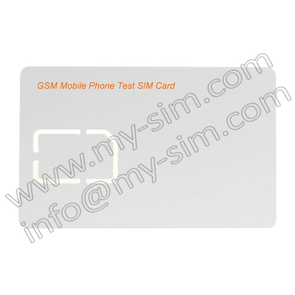 Commercio all'ingrosso (10 pezzi) GSM (GSM EGSM DCS PCS) Scheda SIM per telefoni cellulari con taglio micro e standard