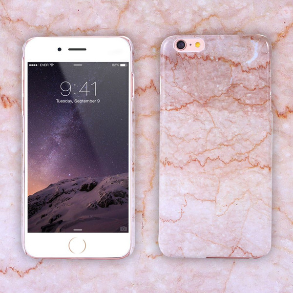 Retro Marble Patten Case for iPhone 6/ 6S / 6S Plus Hard PC Funda Ultra Thin Phone Accessories Back Cover For Iphone7/7plus