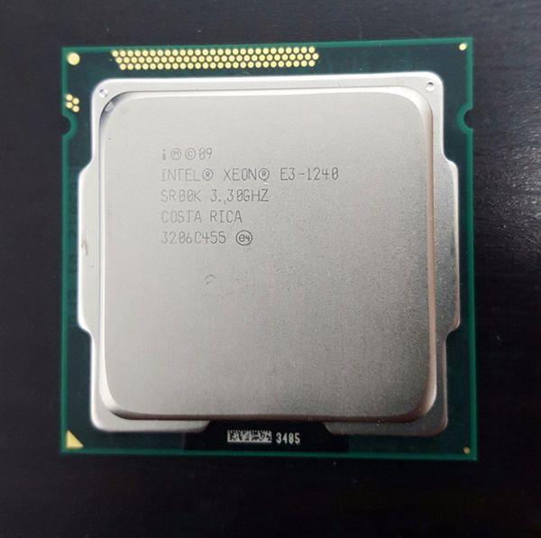 Intel Xeon E3-1240 3.3GHz SR00K Quad-Core 8M Cache LGA 1155 CPU Processor E3 1240