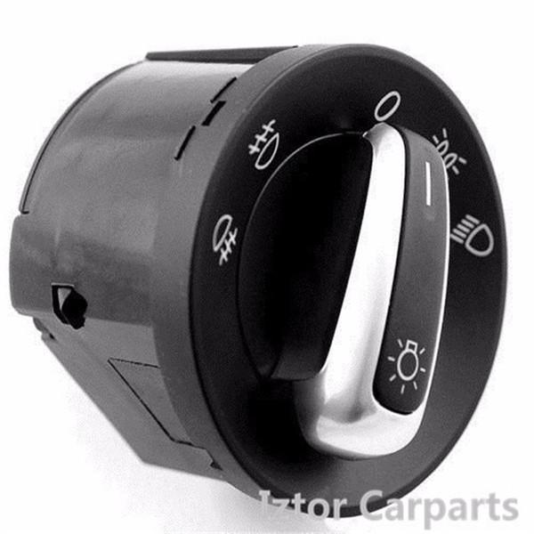 Car Headlight Front Fog Light Switch for Volkswagen Golf MK5 MK6 PASSAT CC TIGUAN