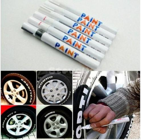 best selling New hot 28 Colors Tyre Permanent Paint Pen Tire Metal Outdoor Marking Ink Marker Creative good quality