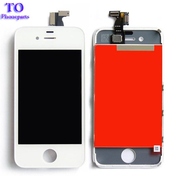 For iPhone 4 4S LCD Display Touch Screen Digitizer Assembly Phone Replacement Parts Black White LCD For iPhone 4S LCD Screen