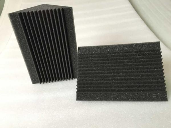 top popular New Type Bass Trap Corner Foam,Black Charcoal Acoustic Studio Panel 2021