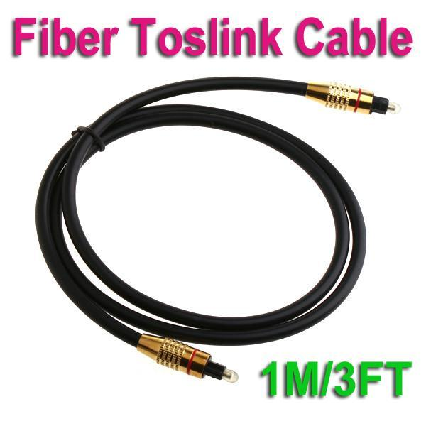 1M/3FT Digital Audio Optical Fiber Cable Toslink Cable Cord Male to Male Free shipping