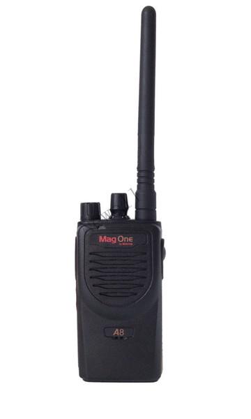 Atacado-Frete grátis Mag um rádio A8 Ham 5watts 16CH 136-174 / 400-470MHz rádio amador Magone A8 rádio walkie talkie