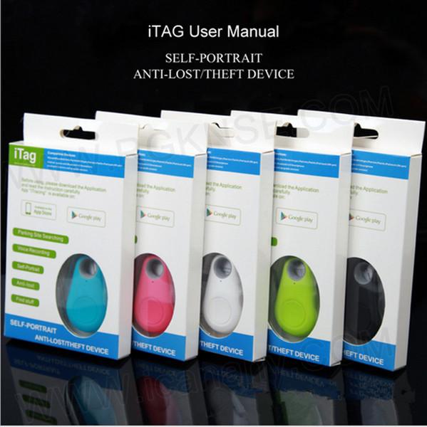 Intelligent bluetooth iTag Anti-cambrioleur d'alarme enfants GPS Tracker Télécommande cadeaux d'obturateur pour les parents iphone x 6s 7 8 plus SAMSUNG S8