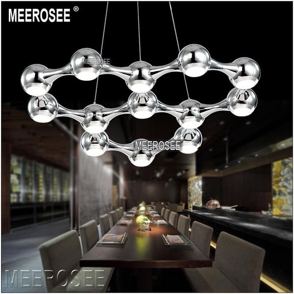 Modern LED Chandelier Light lighting lustre fixtures Ball Hanging LED dining light with LED Light Bulb 39 Watt