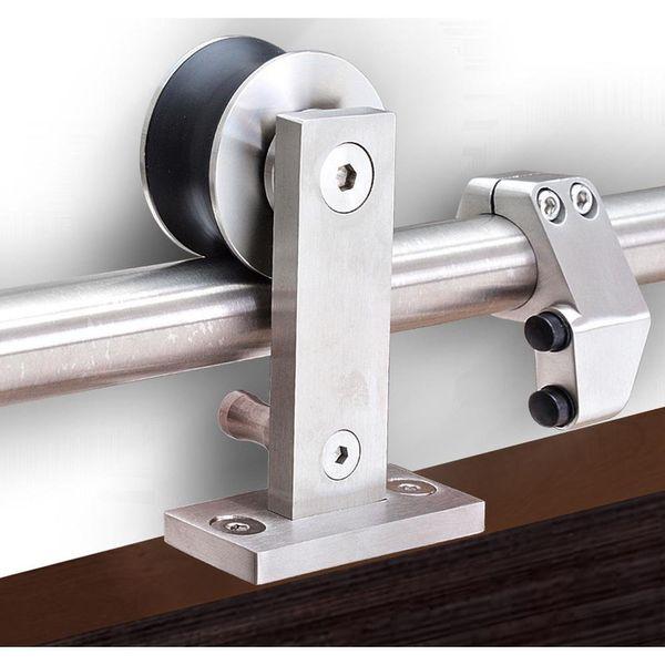 Kinmade MM-10Y Stainless Steel WoodenSlidingDoor-Hardware Modern Interior Sliding Barn Wooden Door Hardware Track Set