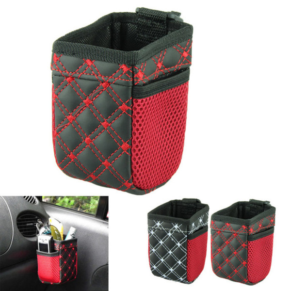 Delicate Car Pocket Storage Organizer Bag of car air outlet mobile phone bag carriage bag Hot Selling free shipping TY1102
