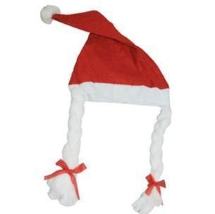 Freies Verschiffen! Weihnachtshut-Mädchen-Borten, sehr nette Kindergarten-Spiel-Hüte Weihnachtsdekoration liefert Großhandel TY1644