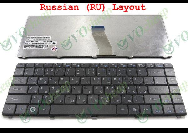 New Notebook Laptop keyboard for Acer eMachines D525 D725 aspire 4732 4732z Black Russian RU version - NSK-GE00R 9J.N1S82.00R