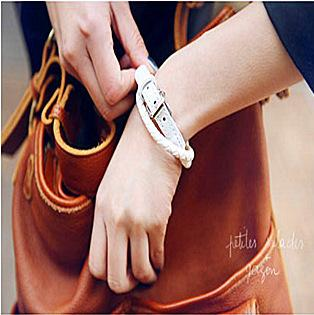 New Multilayer Leather Charm Bracelet Chains Jewelry Accessories Weave woven belt Bangles for women 3 colors Black Brown White Factory Price
