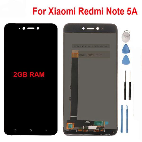 For Xiaomi Redmi Note 5A LCD Display Touch Screen For 5.5inch Redmi Note 5A Global Version (2GB RAM )/ Redmi Y1 Lite Original