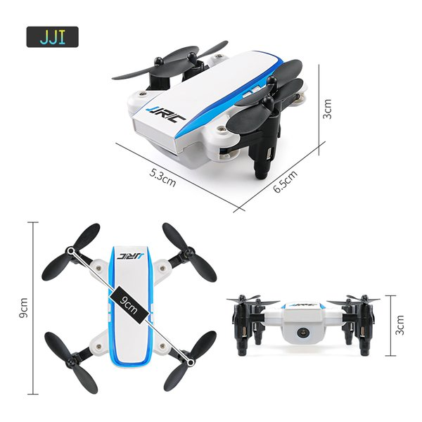 2018 RC toy JJRC H345 RC Quadcopter 2.4G 4CH 6 Axis Mini Foldable Drone One Key Return RC Helicopter X-mas Gift Toy