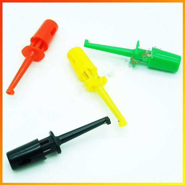 Free shipping 200x 1.7'' Test Hook Probe Spring Clip for PCB