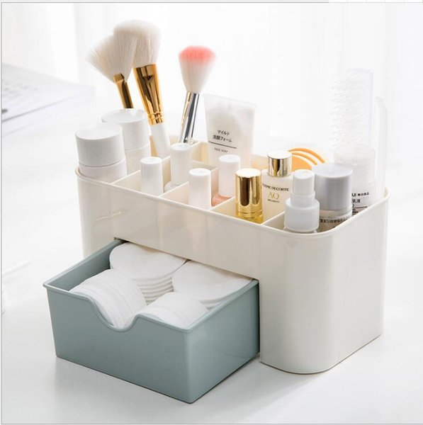2019 Home Office Supplies For Women Multi Functional Plastic Makeup Palette  Organizer Desktop Storage Boxes Drawer From Luckies, $5.62