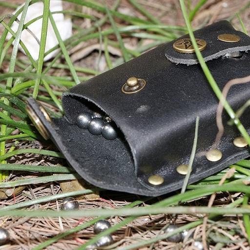 Black Slingshot ball bag