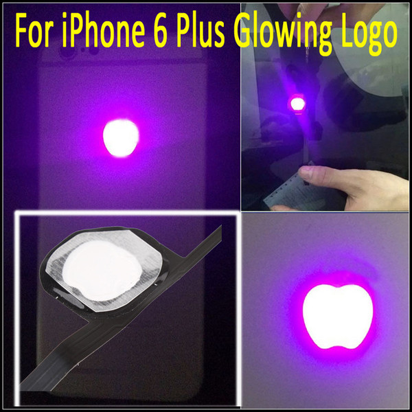 Night Glow Cool Light Shine Back Logo LED Logo Kit Replacement For Apple iPhone 6 Plus Free Shipping with Instruction