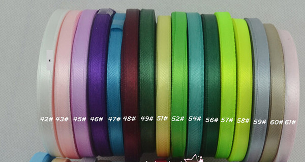 top popular -1-1 2''(38mm)single face satin ribbon 25 yards roll total 20 rolls, 500 yard  lot mix 20color.120 color for option 2021