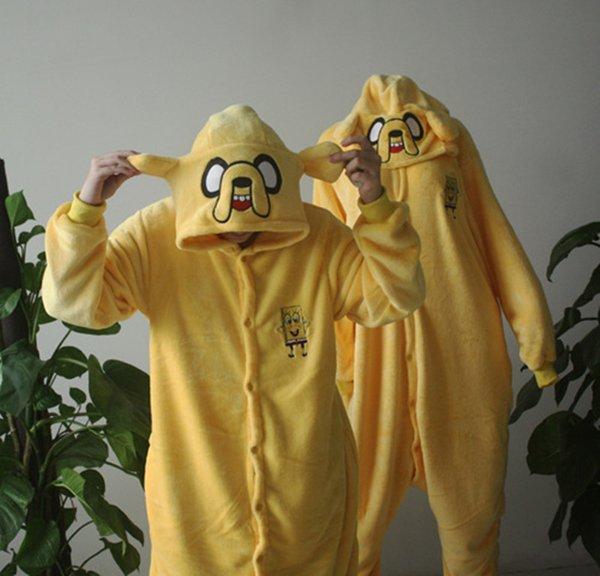Adventure Time Jake Pigiama Giallo