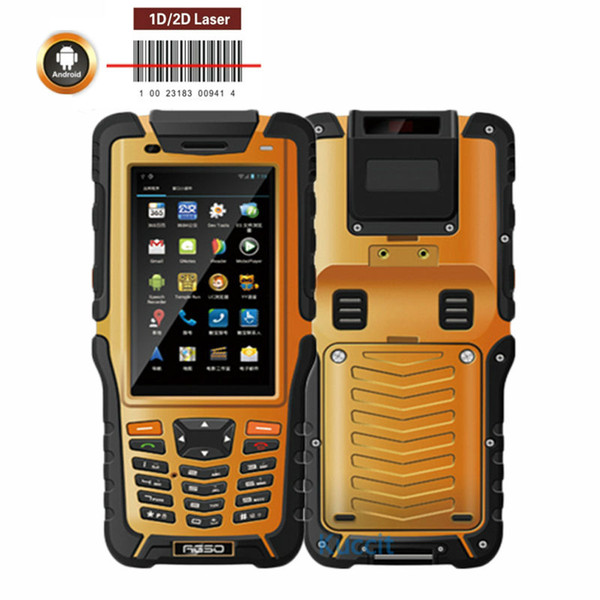 best selling Wholesale- Kcosit S50 Portable Handheld Android PDA Data Collector Reader 1D 2D Laser Barcode Scanner 3GB RAM Waterproof Phone Sunlight 4G