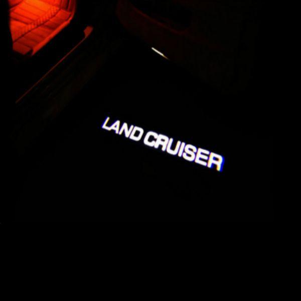2pcs HD LED Car Door welcome light Courtesy Laser Logo Projector Warning Light car door light For Toyota Camry logo Ghost Shadow l