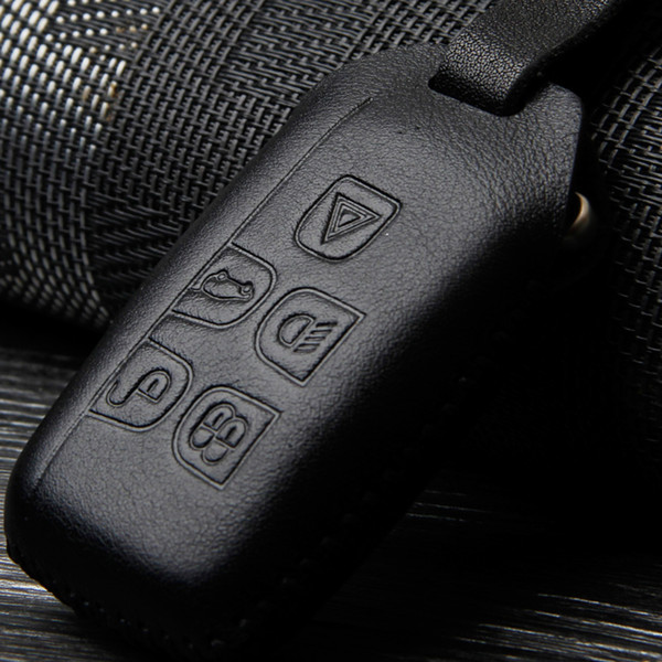 Genuine leather key holder Case Shell for LAND ROVER RANGE ROVER SPORT Evoque Freelander DISCOVERY key holder keychain auto accessories