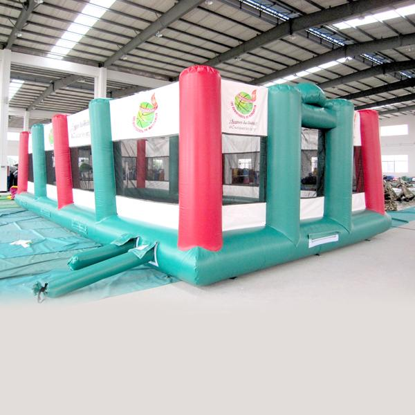 AOQI amusement park equipment outdoor Sports playground inflatable playground for kids for sale made in China