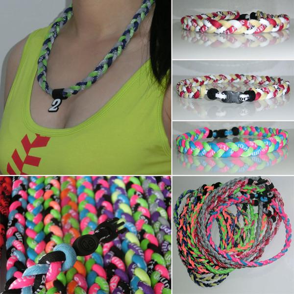 best selling men womens teen kids baseball mom teacher sister softball healthy custom braided baseball titanium necklaces