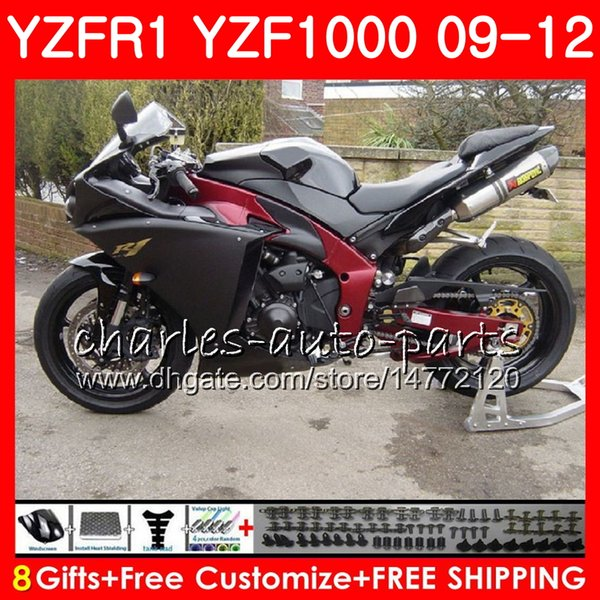 Yamaha Yzf 1000 R >> Satin Al Yamaha Yzf 1000 R 1 Yzfr1 Icin Govde Mat Siyah 09 10 11 12