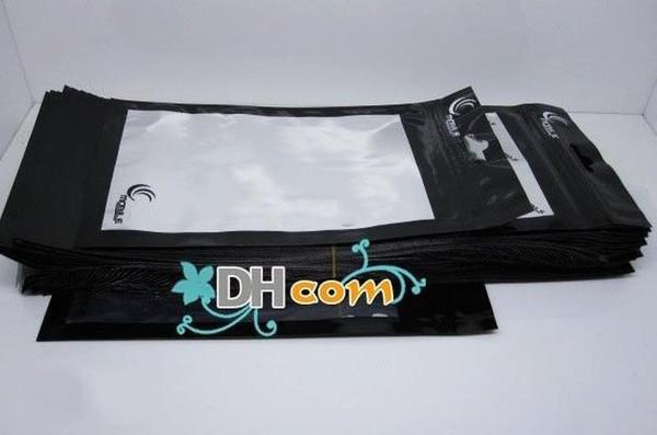 18 * 10 CM Reißverschluss Kunststoff Einzelhandel Verpackung Beutel Tasche für handy fall Handy Zubehör 100 teile / los