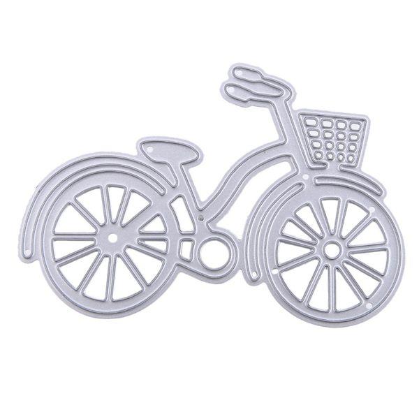 Troqueles de corte de bicicleta Troqueles de corte de metal Plantillas para troqueles de Scrapbooking decorativos Álbum de fotos de artesanía en relieve Tarjetas de papel