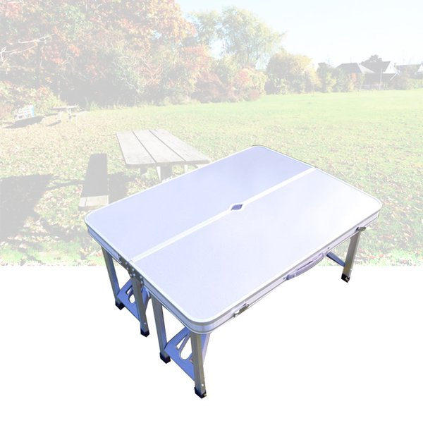 Outdoor Folding Tables And Chairs Combination Set Portable Lightweight For Picnic BBQ Camping Aluminum Alloy Easy Fold Up