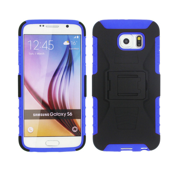 Para Alcatel U5 HD A7 XL Idol 5 S A3 A30 Mais Dual Layer Protetora Premium Shell Coldre Kiskstand Clipe Combo Telefone Caso