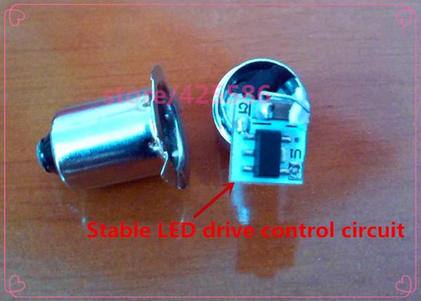 Led P13.5s 3V-18V 3W Cree Einbau Schraube P13.5 Led 3W Sockel Led Taschenlampe Großhandel