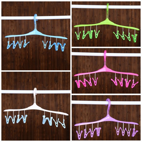 PWet And Dry Hangers Safe Removable Clip Clothes Rack Wire Design Easy To Use Coat Hanger Wear Resistant 2 1ld B