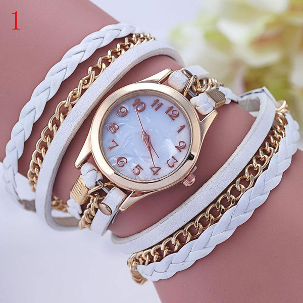 Hot Sales Wristwatch Fashion Quartz leather Watch Women's Watches 10 Colors for lady gif free shipping